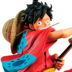 One Piece Master Stars Piece The MONKEY D. LUFFY Wanokuni Ver.