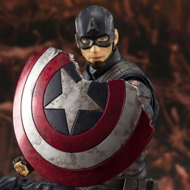 Avengers Endgame S.H. Figuarts CAPTAIN AMERICA Final Battle Edition