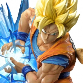 Dragon Ball Z Mega Premium Masterline SON GOKU Super Saiyan