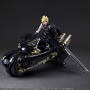 Final Fantasy VII Advent Children Play Arts Kai CLOUD STRIFE & FENRIR