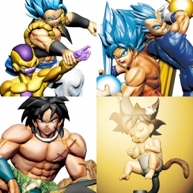 Dragon Ball Super DRACAP RE: BIRTH SUPER POWER Ver. Pack 4 Dioramas