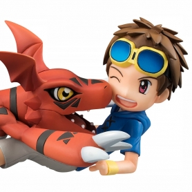 G.E.M. Series Digimon Tamers TAKATO MATSUKI & GUILMON