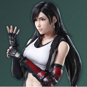 Final Fantasy VII Remake Play Arts Kai TIFA LOCKHART