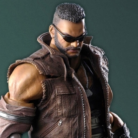 Final Fantasy VII Remake Play Arts Kai BARRET WALLACE Version 2