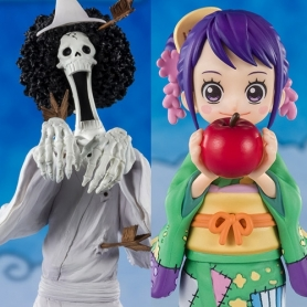 One Piece Figuarts ZERO BROOK (HONEKICHI) y TAMA