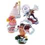 One Piece Logbox RE:BIRTH WHOLE CAKE ISLAND Limited Box Pack 4 dioramas