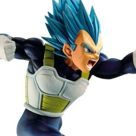 Dragon Ball Super Z-Battle Figure VEGETA Super Saiyan God Super Saiyan